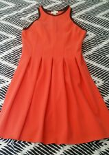 WITCHERY Tangerine Orange Summer Flowy Dress size 10