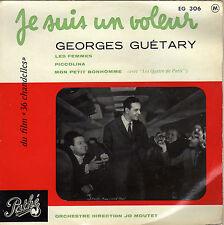 GEORGES GUETARY JE SUIS UN VOLEUR FRENCH EP JO MOUTET