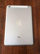 Apple Ipad mini, Mod. A1455, 16GB, wi-fi+3G, Bloccato,silver-argento/ bianco