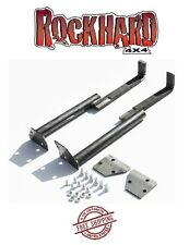 Rock Hard 4X4 Sport Cage Floor Mounts 87-95 Jeep Wrangler YJ RH-1002-F Bare