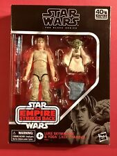 Hasbro Star Wars  Black Series ESB  Luke Skywalker Yoda (Jedi Training) Figures