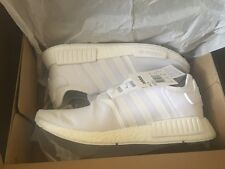 ADIDAS NMD R1 TRIPLE WHITE SIZE UK13 BRAND NEW-LIMITED EDITION-VERY RARE!!!