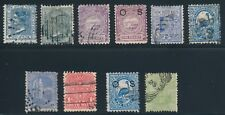 New South Wales & South Australia (10) EARLY ISSUES (1882-1897); USED