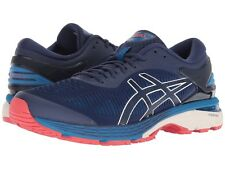 NWT - ASICS Men's 'GEL-KAYANO 25' Indigo Blue/Cream RUNNING SHOES - 9 / 42.5