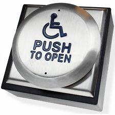 B16 disabilitato Porta a Spingere Pulsante Apri per sedia a rotelle Access (DDA regolamenti)