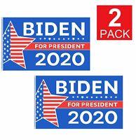 2-Pack Joe Biden for President 2020 Wall Flag, 3x5' Flag with Grommets