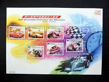 La CINA MACAU 2003 GRAND PRIX MOTOR RACING SHEETLET SGMS 138 U/M fp9595
