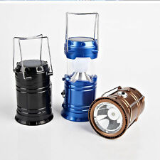 Solar/Rechargeable 6-W Led Light Lantern Lamp Inbuilt Mobile Usb Power  Bank/