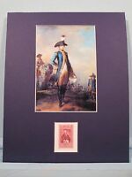 Marquis de Lafayette Arrives in America honored by his own stamp