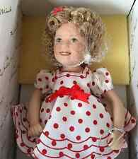 "SHIRLEY TEMPLE 8"" STAND UP AND CHEER MOVIE MEMORIES DANBURY MINT DOLL w/ BOX"
