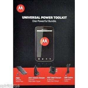 Motorola Universal Portable Power Battery Backup Droid Blackberry LG Apple Nokia