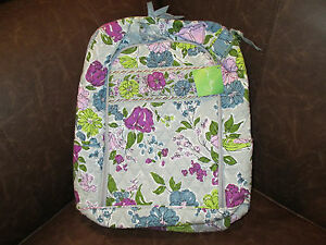 VERA BRADLEY ~WATERCOLOR~ LAPTOP BACKPACK  NEW WITH TAGS