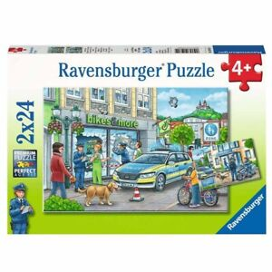 Ravensburger - Police at work 2x24 pieces Jigsaw Puzzles 4+