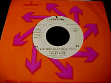 LESLEY GORE Take Good Care /I Can't Make It NORTHERN SOUL 45 Rare Promo 45 HEAR