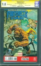 Fantastic Four 1 CGC 9.8 2XSS Mark Bagley CP Wilson Phantom Variant Cover