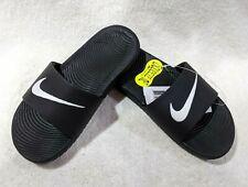 Nike Boy's Kawa Black/White Slide Sandals (GS/PS)-Assorted Sizes NWB 819352-001