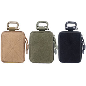 Tactical Molle EDC Pouch Range Bag Medical Organizer Pouch Military Small Wallet
