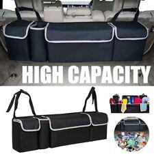 Car Back Seat Trunk Storage Bag Organizers Pocket Multi-use Box Case Boot Travel