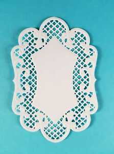 3 x Stanzteile Kartenaufleger Kartenschmuck Scrapbooking Basteln Accessoires