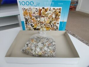 CATS 1000 Piece Jigsaw Puzzle. Cats, Kittens 100% Complete