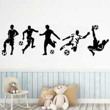 Football Soccer Wall stickers Decal Kids Room Decor sport Boy Bedroom Decor