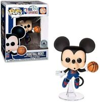 Basketball Mickey NBA Disney Parks Funko Pop Vinyl New in Box