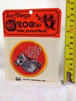 Rare Deadstock Vintage 70s San Diego Zoo Koala Souvenir Embroidered Patch