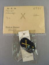 T&S: Kriegsmarine: Paar Armabzeichen für Waffenoffizier Artilleriewaffen, 57196