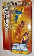 JUSTICE LEAGUE Unlimited HAWKGIRL DR FATE VIXEN 3 pack moc dc universe jlu dcu