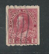 CANADA # 124 Used KING GEORGE V  (2340)