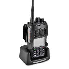 NKTech MD-380 Radio Belt Case Holder Two 2 Way Radios Walkie Talkie Bl