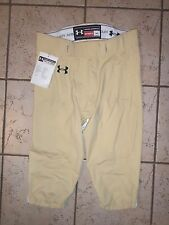 NWT Mens Under Armour gold & green football warrior pants Size XL ~ Retail $130