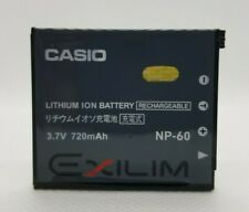 Casio NP-60 Rechargeable Lithium-Ion Battery (3.7V, 720mAh)