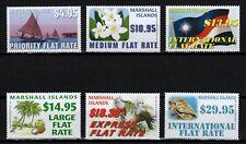 MARSHALL ISLANDS, SCOTT # 995-1000, SET OF 6 HIGH DENOMINATIONS 2011 MNH