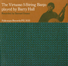 Barry Hall - Virtuoso Five-String Banjo [New CD]