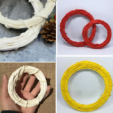 Willow Wicker Wreath Circle Ring Wall Table Display Christmas Wedding Decorative