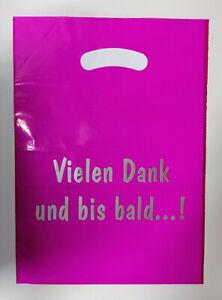 1000 Tragetaschen TROPIC pink 250 x 330mm, 25 x 33cm, mit Werbung, SONDERANGEBOT