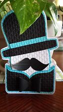 """25 Our Little Man Mustache Baby Shower Invitations 4 x 6"""""""