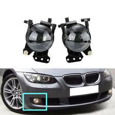 2x Front Fog Lights Lamps Housing Clear Fit For BMW E60 E61 E63 E46 X3 325i 525i