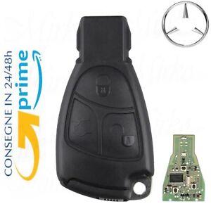 Telecomando compatibile PER Mercedes-Benz COMPLETA di chip 3T con lama vergine