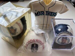 Ken Griffey Jr Vintage 94/95/98 Fotoball Jersey Display Lot4 HOF Mariners MLB 💥