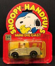 Aviva 1950s-1960s Snoopy Handfuls Snoopy in Gray Tow Truck in Original Package