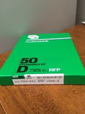 10 Sheets of Fujifilm Rfp 50 4 x 5 Slide Film - 50d Iso 50 - Frozen