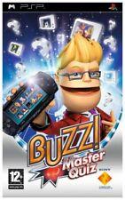 Buzz! Master Quiz (PSP) (Sony PSP) (2008)