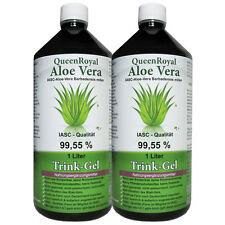 QueenRoyal Aloe Vera Trink Gel 99.55% pur 2 Liter Sparpack. 30256-G