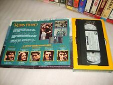 ROBIN HOOD - 1991 Mega Rare (Not For Sale) Dealer Only Preview Vhs Carton Issue!