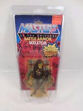SEALED VINTAGE MASTERS OF THE UNIVERSE BATTLE ARMOR SKELETOR FIGURE MOTU 1983