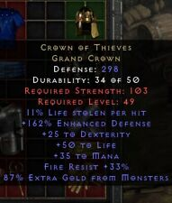 Crown of Thieves Helm | Krone der Diebe | Diablo 2 Resurrected D2R SC PC