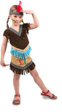 Indianerin Kostüm Gr 98 104 Indianer Mädchen Kleid  Karneval Kostüm