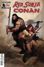 RED SONJA CONAN #1 (OF 4) AOD COLLECTABLES ARIEL OLIVETTI LIMITED VARIANT COVER